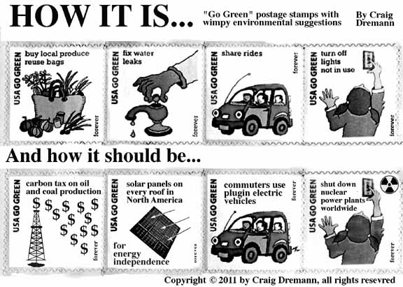 cartoon of stamps